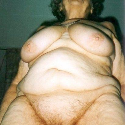 Alte Oma Muschi