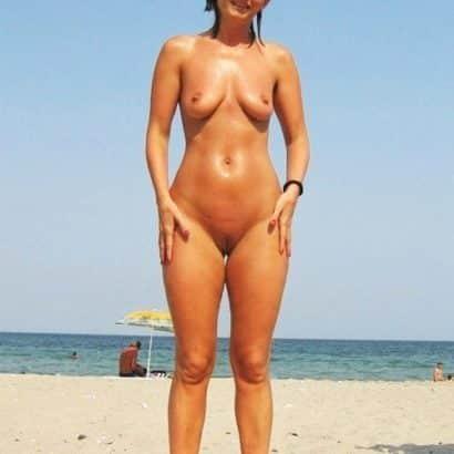 Vagina Bilder am strand