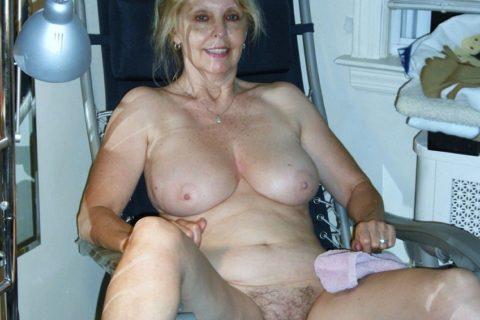 Alte Muschis ganz nackt