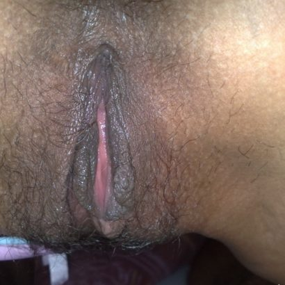 schwarze Enge Muschi