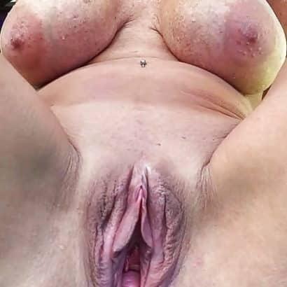 Alte Große Muschi