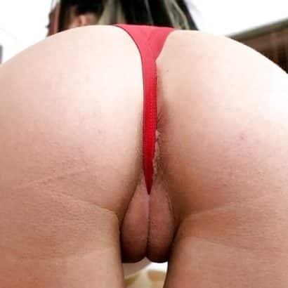 Fette Muschi von hinten