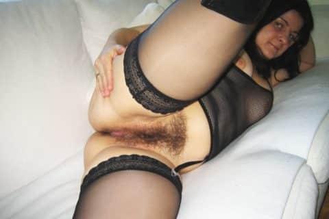 Süße Haarige Muschi
