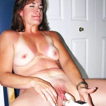 Frauen bei der Selbstbefriedigung Foto