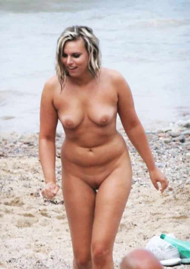 Frau Nackt Strand