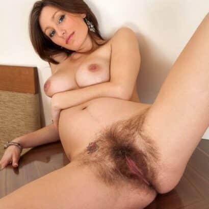 Haarige Schwangere Möse